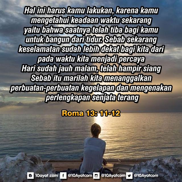 Roma 13: 11-12