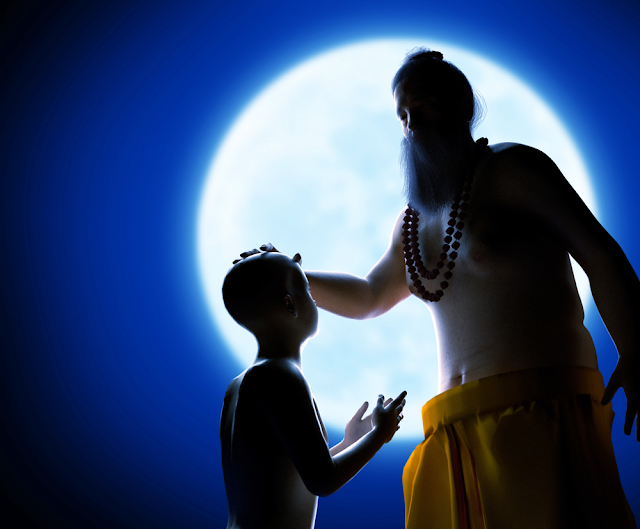 gurupurnima worship teacher indian festival 3d