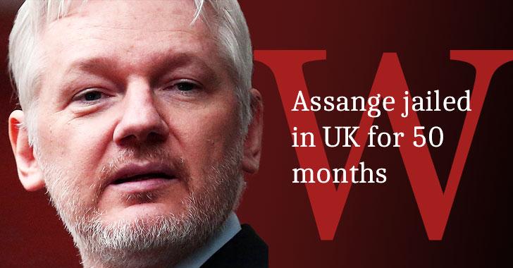 julian assange jailed