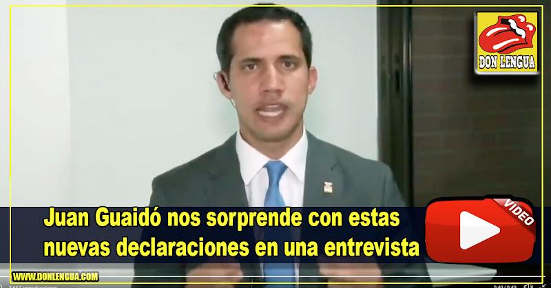 Juan Guaidó vuelve a decir que falta muy poco para que Maduro se vaya