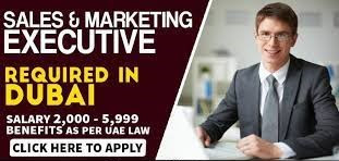 Sales And Marketing Executive Jobs Vacancy In Dubai 2021