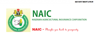 2018/2019 NAIC Recruitment Portal www.naic.gov.ng - See How To Apply Here