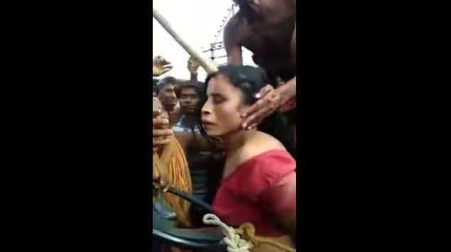 This Mentally-Ill Woman Was Accused Of Child Trafficking So The Villagers To Beat Her Until She Met Her Gruesome Death!