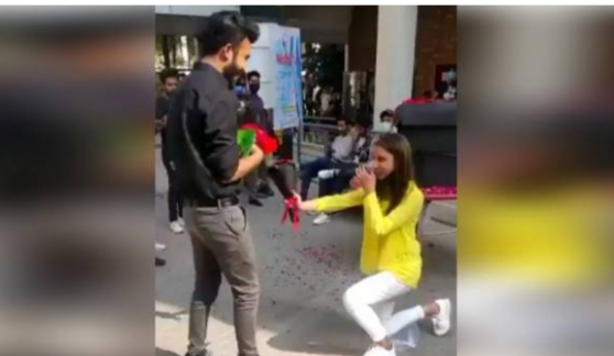 A Couple Who Openly Expressed Heir Love at The University of Lahore Was Punished Newsajk.xyz