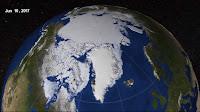 Arctic Sea Ice June 10, 2017 (Credit: NASA) Click to Enlarge.
