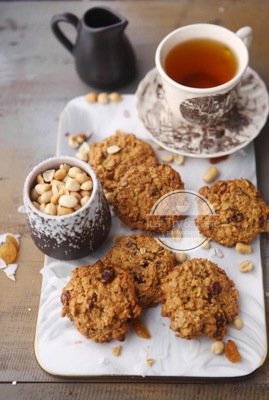 Resep Gluten Free Oatmeal Cookies (Tanpa Tepung)