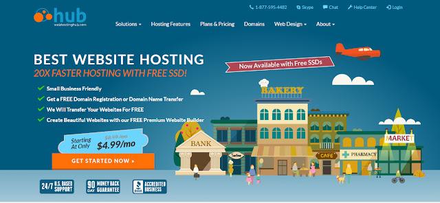 WebHosting Hub- Top web host and domain registrar