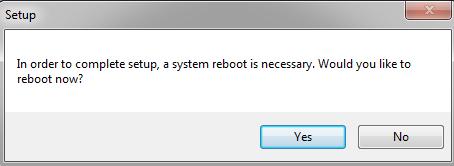Cài Microsoft Office 2016 - khởi động lại máy