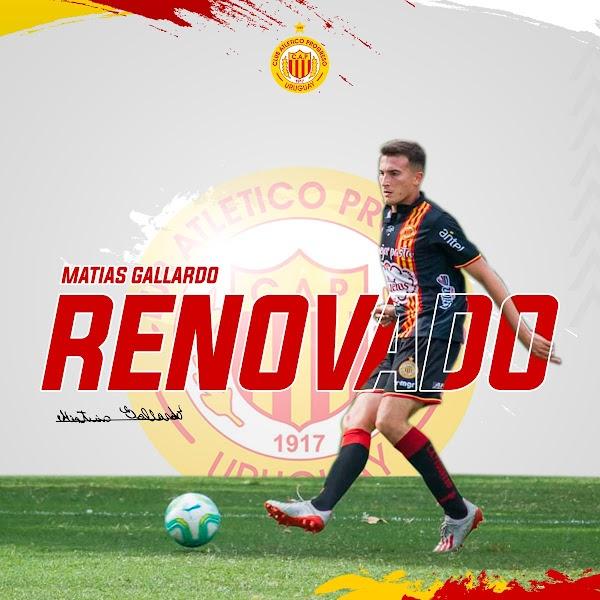 Oficial: Progreso, renueva una temporada Matías Gallardo