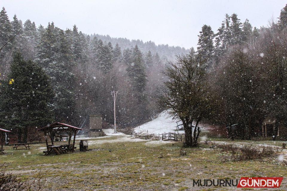 Abant'ta mevsimin il karı 01.12.2019