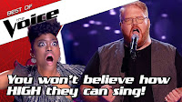 TOP 10 | INCREDIBLE High Notes in The Voice #2