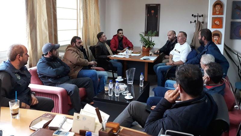 Συνάντηση του Δημάρχου Αλεξανδρούπολης Γιάννη Ζαμπούκη με το Δ.Σ. του Αγροτοκτηνοτροφικού Συλλόγου Αλεξανδρούπολης