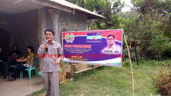 Cari Solusi, Anggota DPRD Bartim Kunker Ke Desa Serap Aspirasi Rakyat