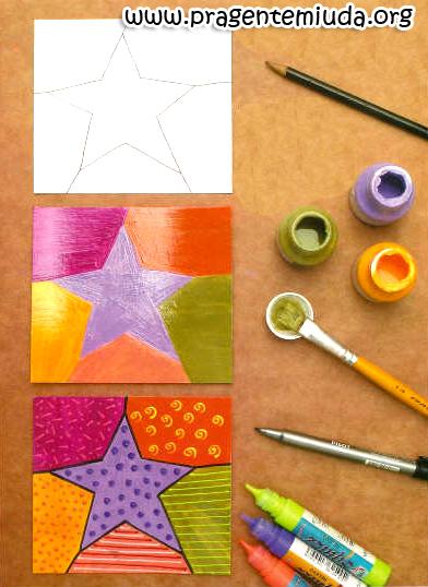 2cee6e63a No blog Pra Gente Miúda eles ensinam a reciclar com Romero Britto, nas  atividades com as crianças. Nesse link tem alguns moldes para colorir,  gatinho, ...
