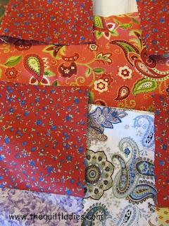 adding hankie quilt borders