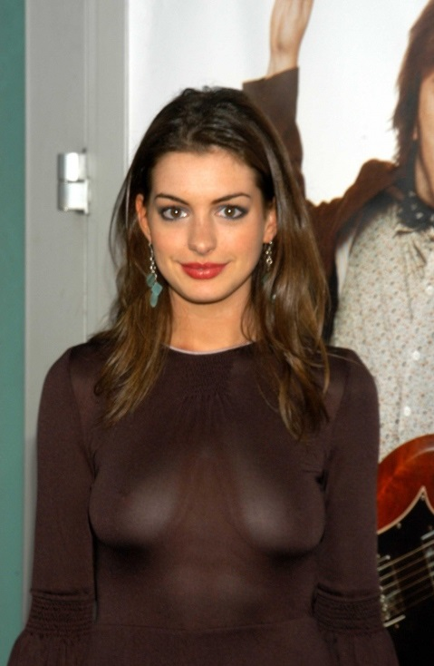 Something is. anne hathaway hot gradually. Exact