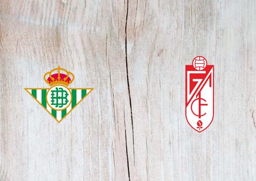 Real Betis vs Granada -Highlights 15 June 2020