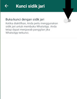 Cara Mudah Mengunci Whatsapp (Fingerpoint lock) Tanpa
