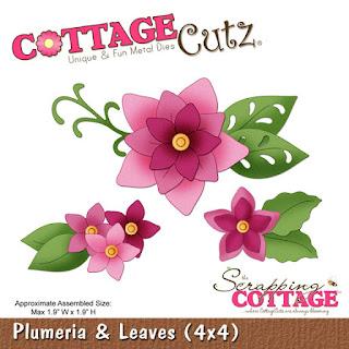 http://www.scrappingcottage.com/cottagecutzplumeriaandleaves4x4pre-order.aspx