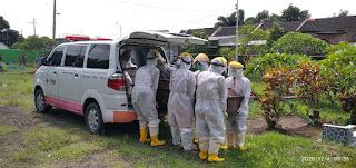 PMI Jember Antarkan 193 Jenazah Selama Pandemi Covid-19