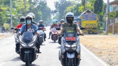 Tiga Tahun Bupati Baddrut Tamam Berhasil Bangun Jalan 227 KM Lebih