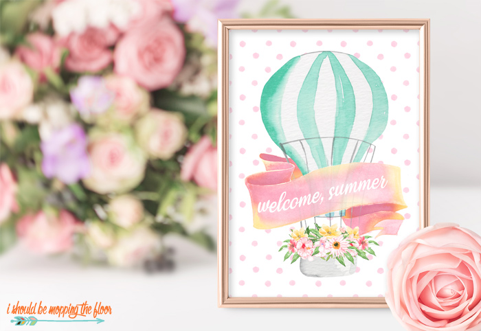 Welcome, Summer Printable