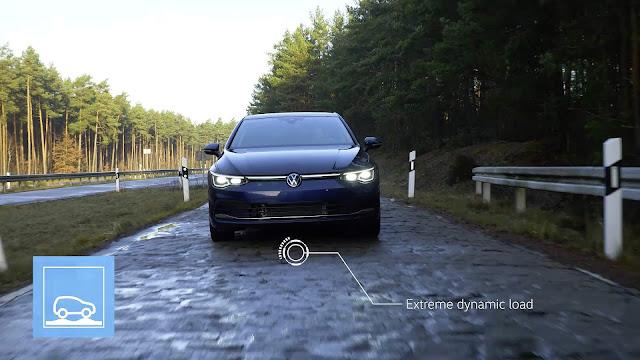 Novo VW Golf 2021 - testes contra corrosão