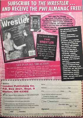 Inside Wrestling  - November 1998 -  Subscribe to The Wrestler