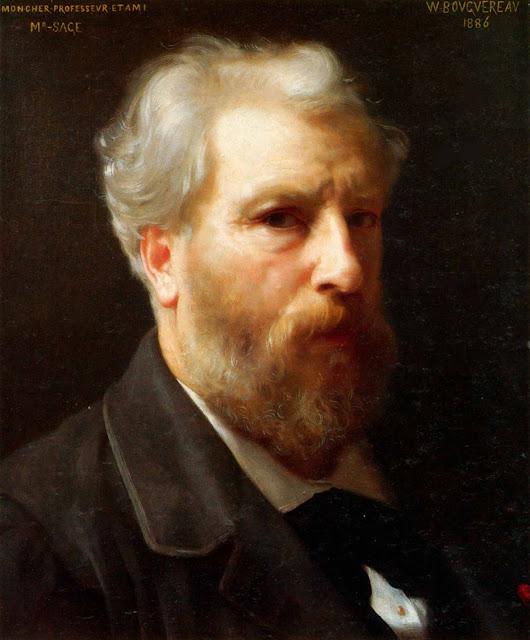 Адольф Вильям Бугро - Автопортрет (1886)