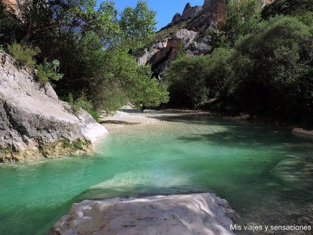 Barranco de la Fuente del río Vero, Aragón