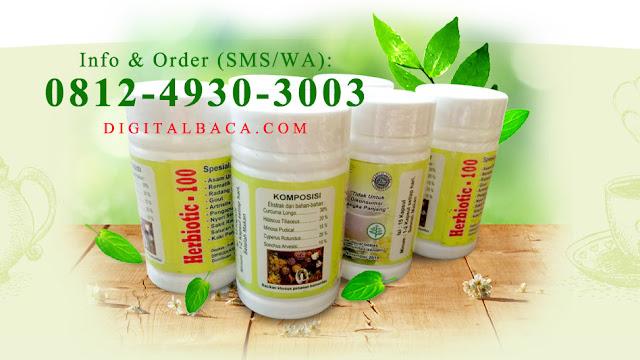 Herbiotic 100 Pengobatan Alternatif  Solusi Sehat Cepat Alami