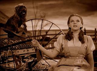 Resultado de imagen para Totó, creo que ya no estamos en Kansas Frase de Dorothy en el Mago de Oz