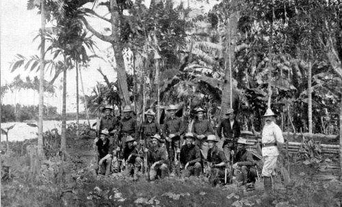 American soldiers on Panay Island 1899