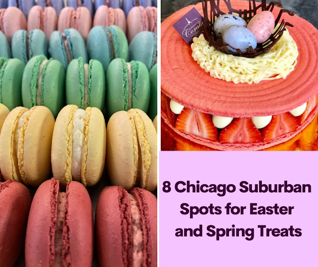 8 Chicago Suburban Bakeries and Chocolate Shops for Easter and Spring Treats