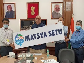 Central government launched Matsya Setu app for fish farmers