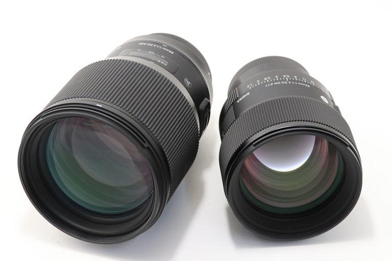 Старый и новый объектив Sigma 85mm f/1.4 Art