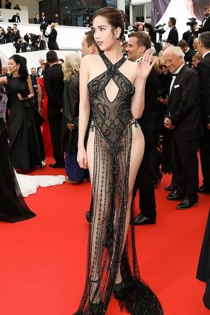 Modelo vietnamita  pode ser multada por usar vestido sexy para o Festival de Cannes