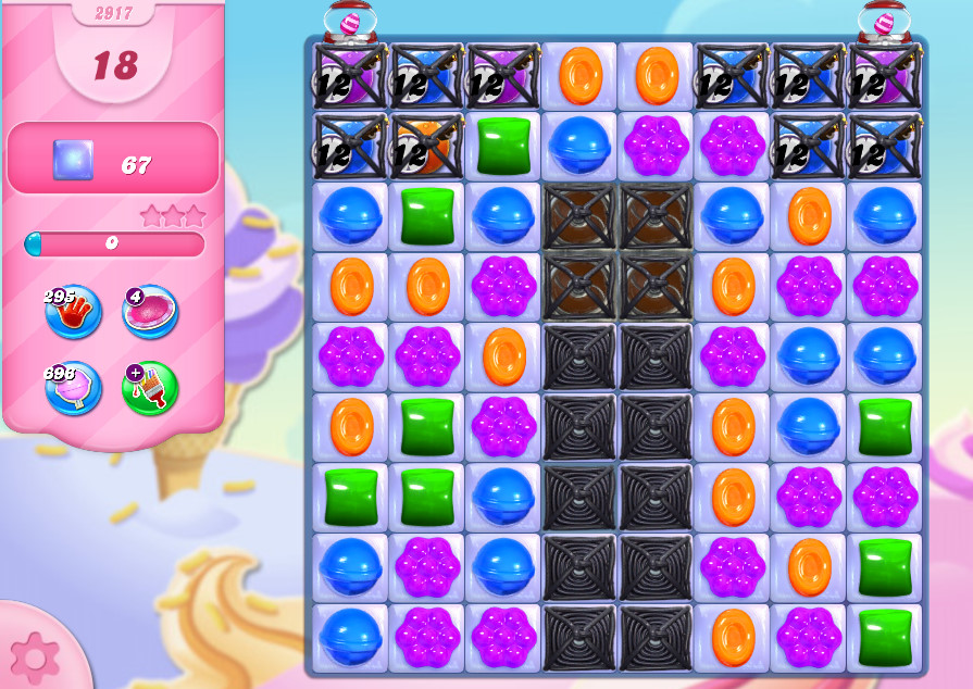 Candy Crush Saga level 2917