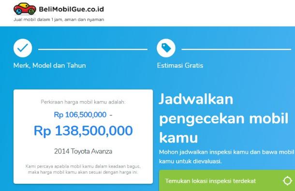 BeliMobilGue, Situs Penjualan Mobil Bekas Terpercaya
