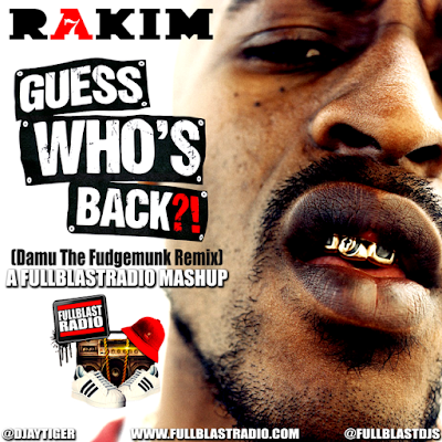 Rakim - Guess Who's Back (Damu The Fudgemunk Remix)