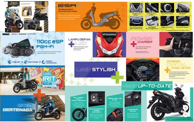 Spesifikasi & fitur Motor Honda BeAt Semua Tipe Tahun 2020