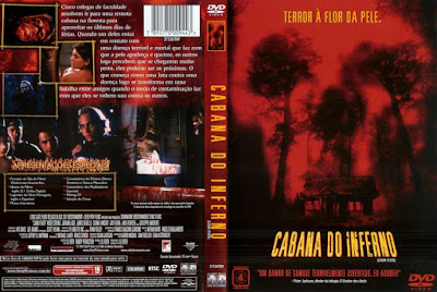 Filme Cabana do Inferno DVD Capa