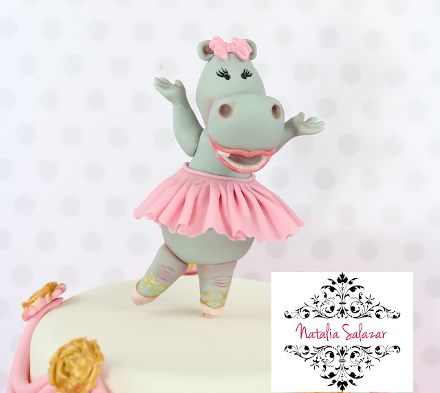 Modelado de bailarina hipopotamo