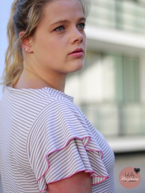 Madrid Schnittmuster Shirt mit Flügelärmeln