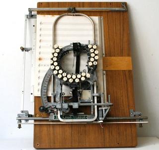 Maquina para escribir música