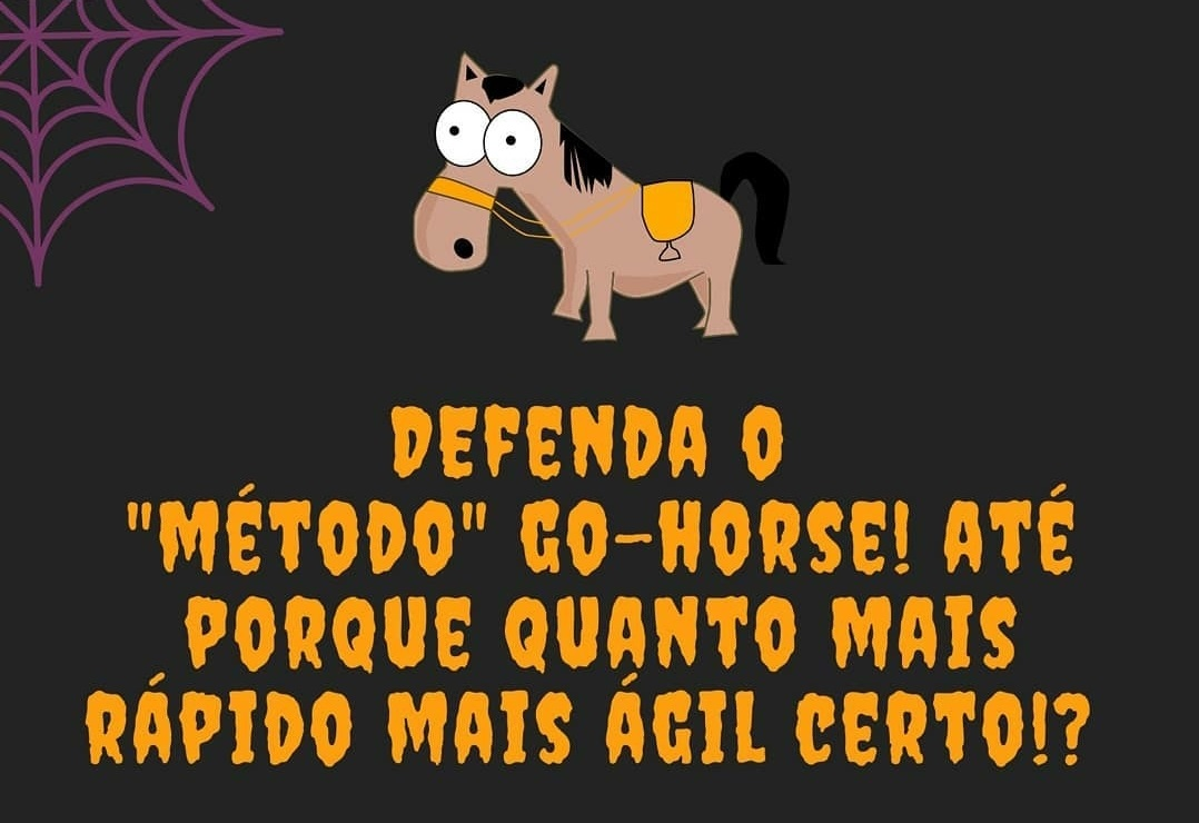 defenda o metodo go horse