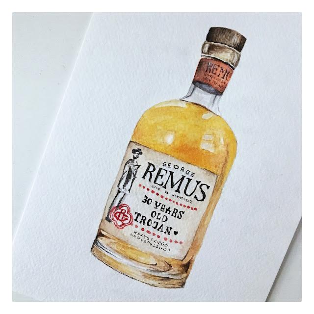 malowanie butelki tutorial