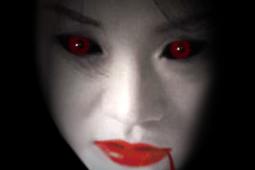 Penampakan Sosok Manusia Hitam dan Mata Merah