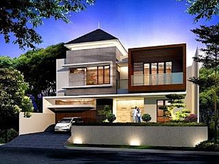 gambar desain rumah minimalis 2 lantai contoh 4 - rumah interior lampung