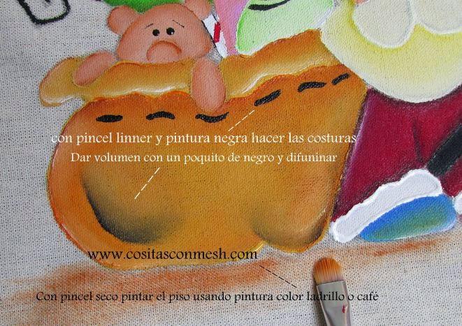 manualidades-navideñas-pintado